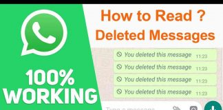 How to Read Delete Whatsapp Messages on Whatsapp Messenger