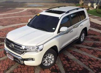Toyota Land Cruiser V8 Specifications