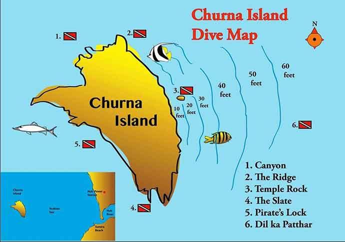 Charna Island Karachi Location Map
