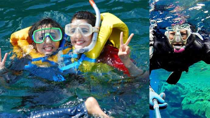 Churna Island Snorkeling Mask and Diving