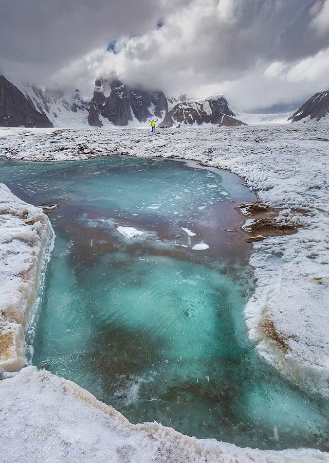 Snow Lake Baltistan Pakistan