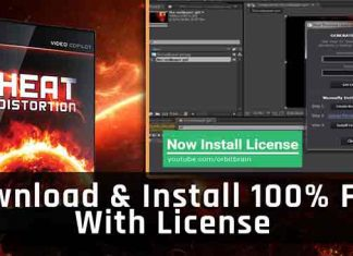 How to install Heat Distortion Video Copilot with license in Adobe After Effects