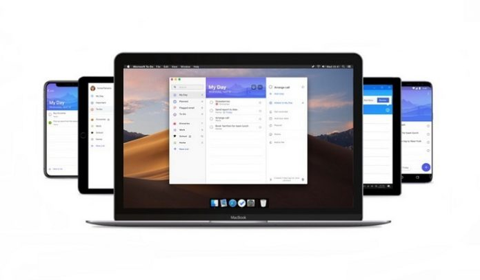 Microsoft To Do Application Adapted For Use With Mac