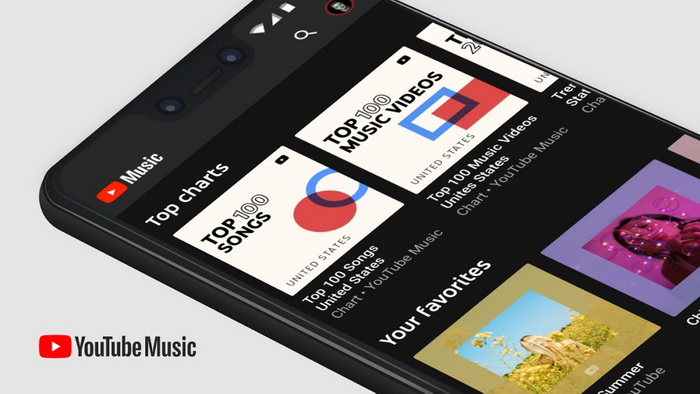 YouTube Music app will automatically and randomly download tracks
