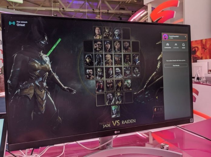 Gamescom lit up the Google Stadia Interface