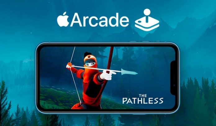 Apple Arcade game service mobile game subscription