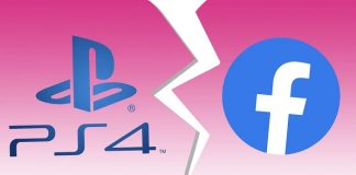 Facebook integration disabled on PlayStation 4