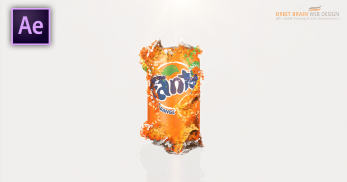 How To Create A Particle Fanta Can After Effects Tutorial - Download Template