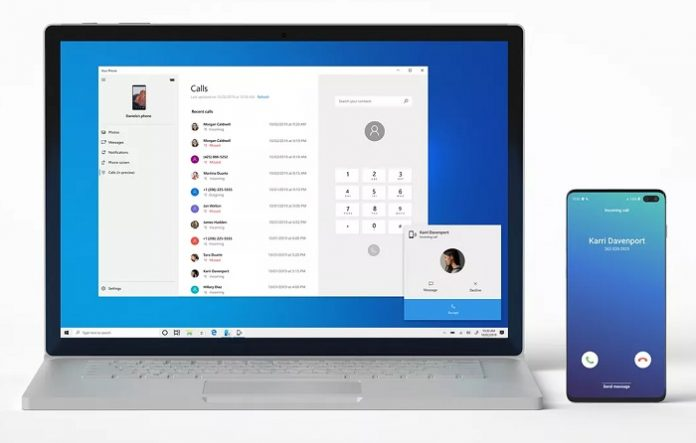 Microsoft Your Phone will allow you to receive calls on your PC