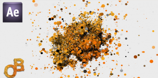 Particle Logo Animation After Effects Tutorial - Template Free Download