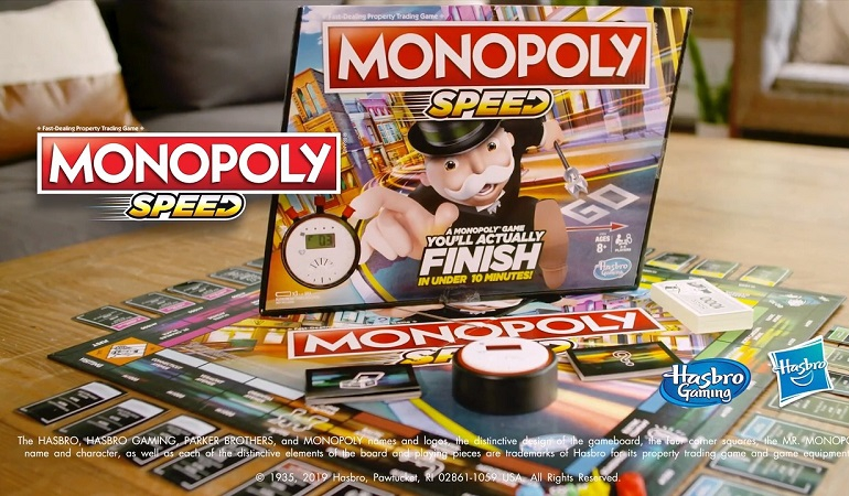 Hasbro , Monopoly , Monopoly Speed , game , Monopoly , Board Game