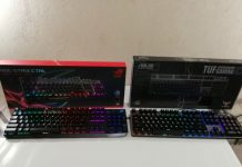 TUF Gaming K7 and ROG Strix Scope keyboards
