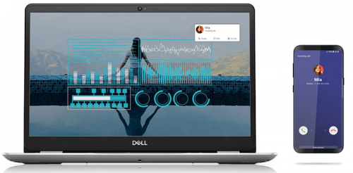 Dell laptops make friends with iPhone