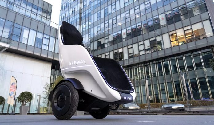 Segway will release a gyro chair With total comfort