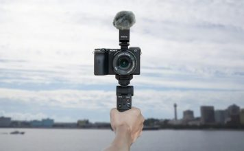 Sony introduced a convenient mono pod for cameras