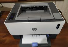 HP World's First Cartridge-Less Laser Printer 1000w