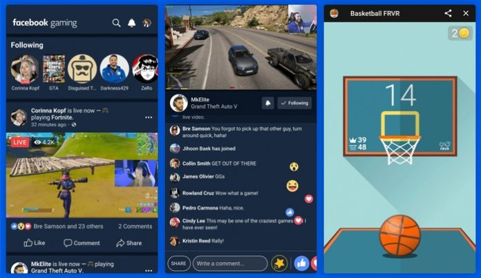 Facebook launched the video streaming service Facebook Gaming
