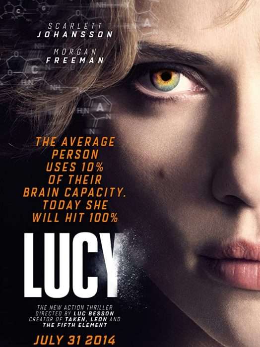 "Fantastic action movie ""Lucy"""