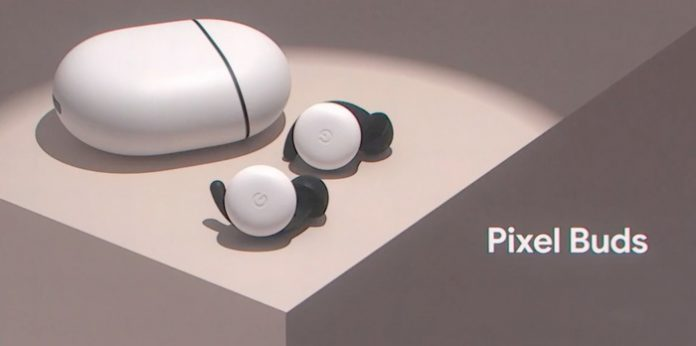 Google filed patent for third-generation Pixel Buds