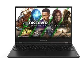 Lenovo introduced gaming laptops with AMD Ryzen 4000