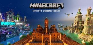 Minecraft beta with ray tracing will be released on PC