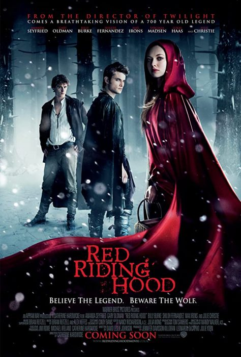 Romantic horror film Little Red Riding Hood