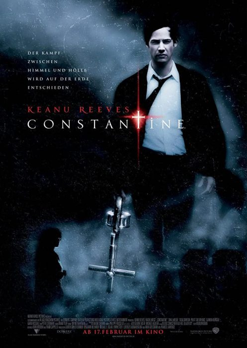 The mystical thriller Constantine Lord of Darkness