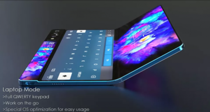 Galaxy Fold 2 concept video posted on YouTube