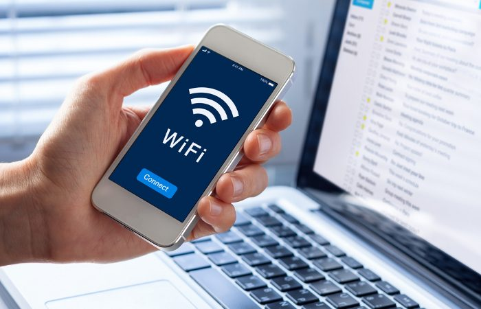 Smartphone as a Wi-Fi router