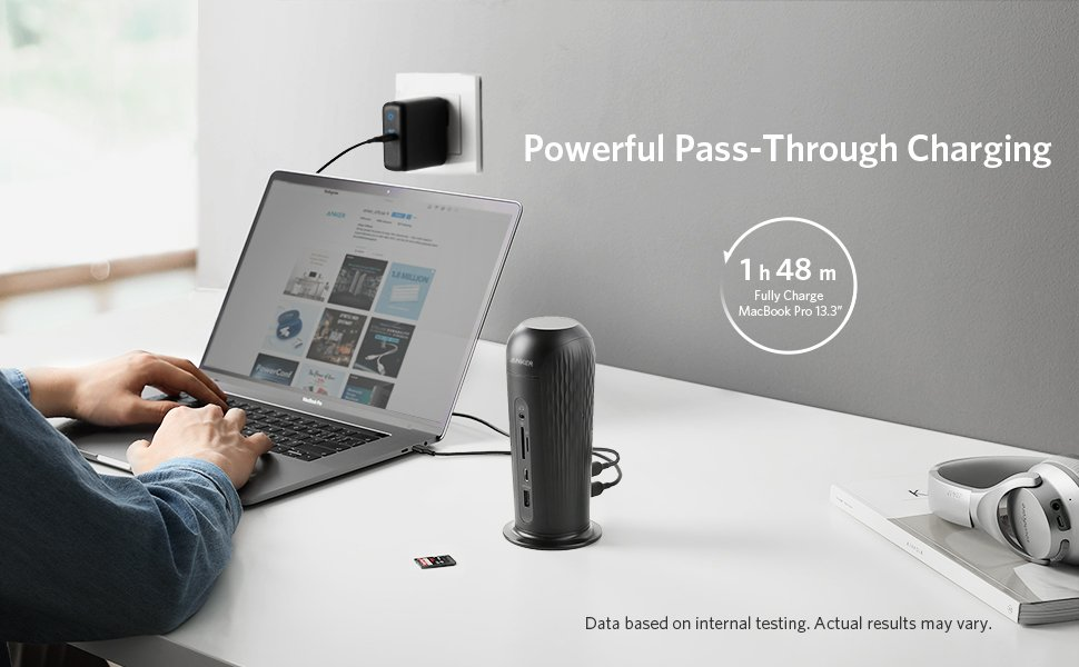 Anker PowerExpand 12-in-1 USB-C PD Media Dock