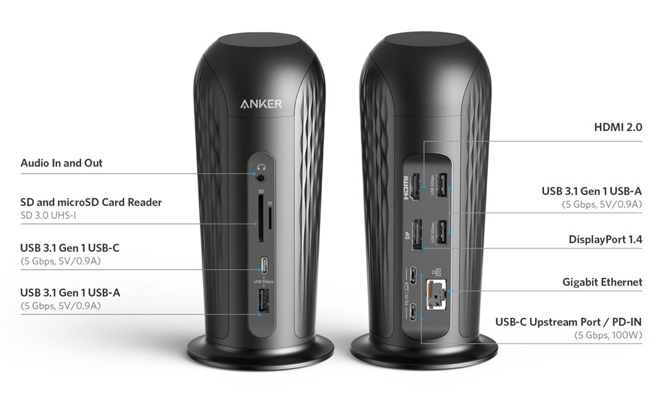 PowerExpand 12-in-1 USB-C PD Media Dock