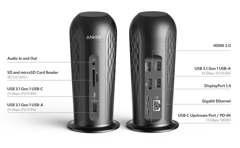 PowerExpand 12-in-1 USB-C PD Media Dock