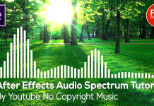 After Effects Audio Spectrum Tutorial
