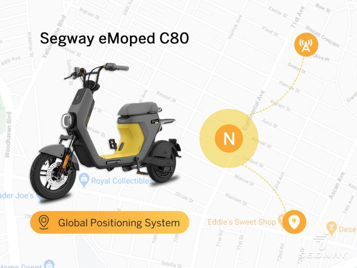 Segway eMoped C80