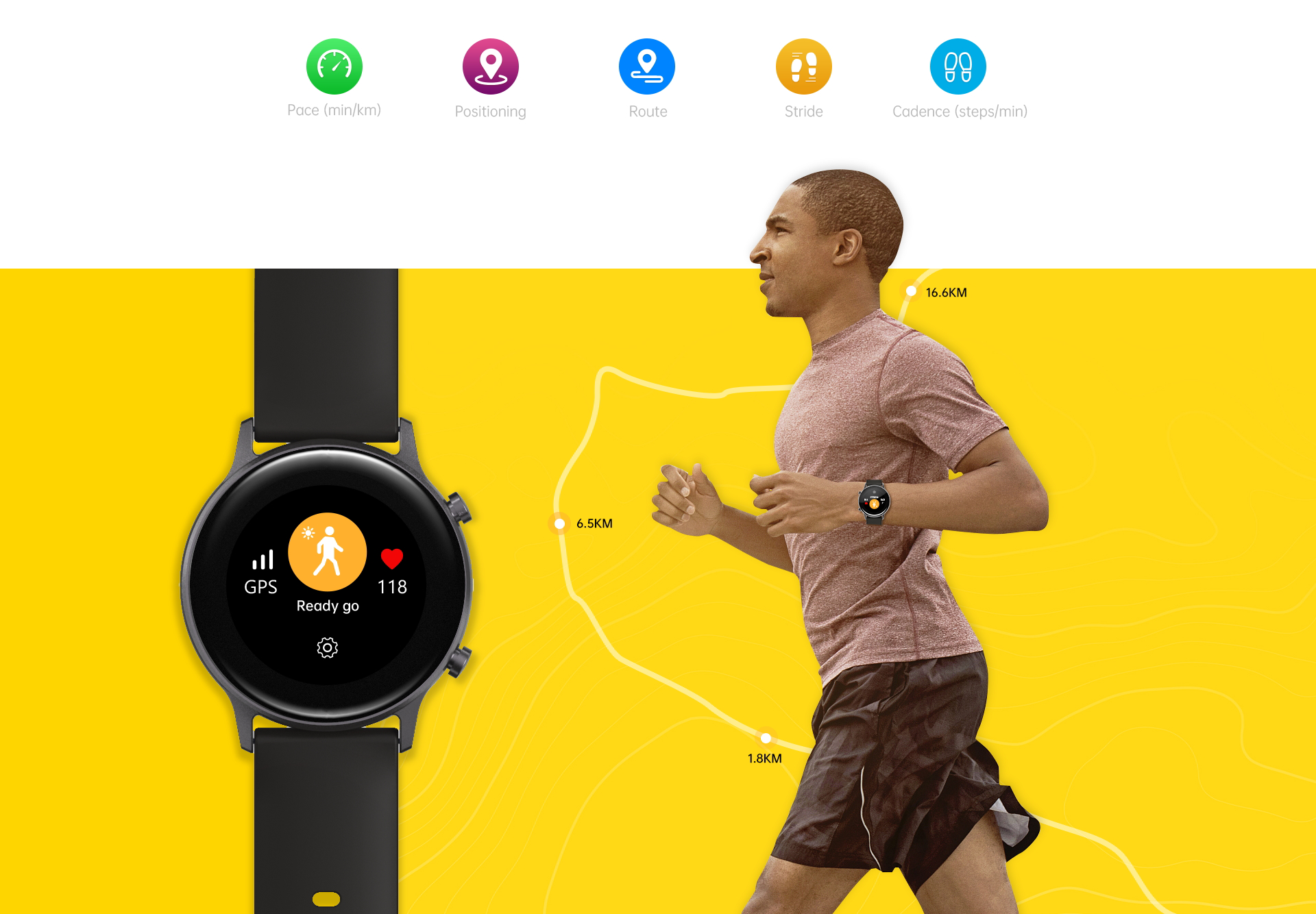 UMIDIGI Urun GPS Sports Smartwatch (3)