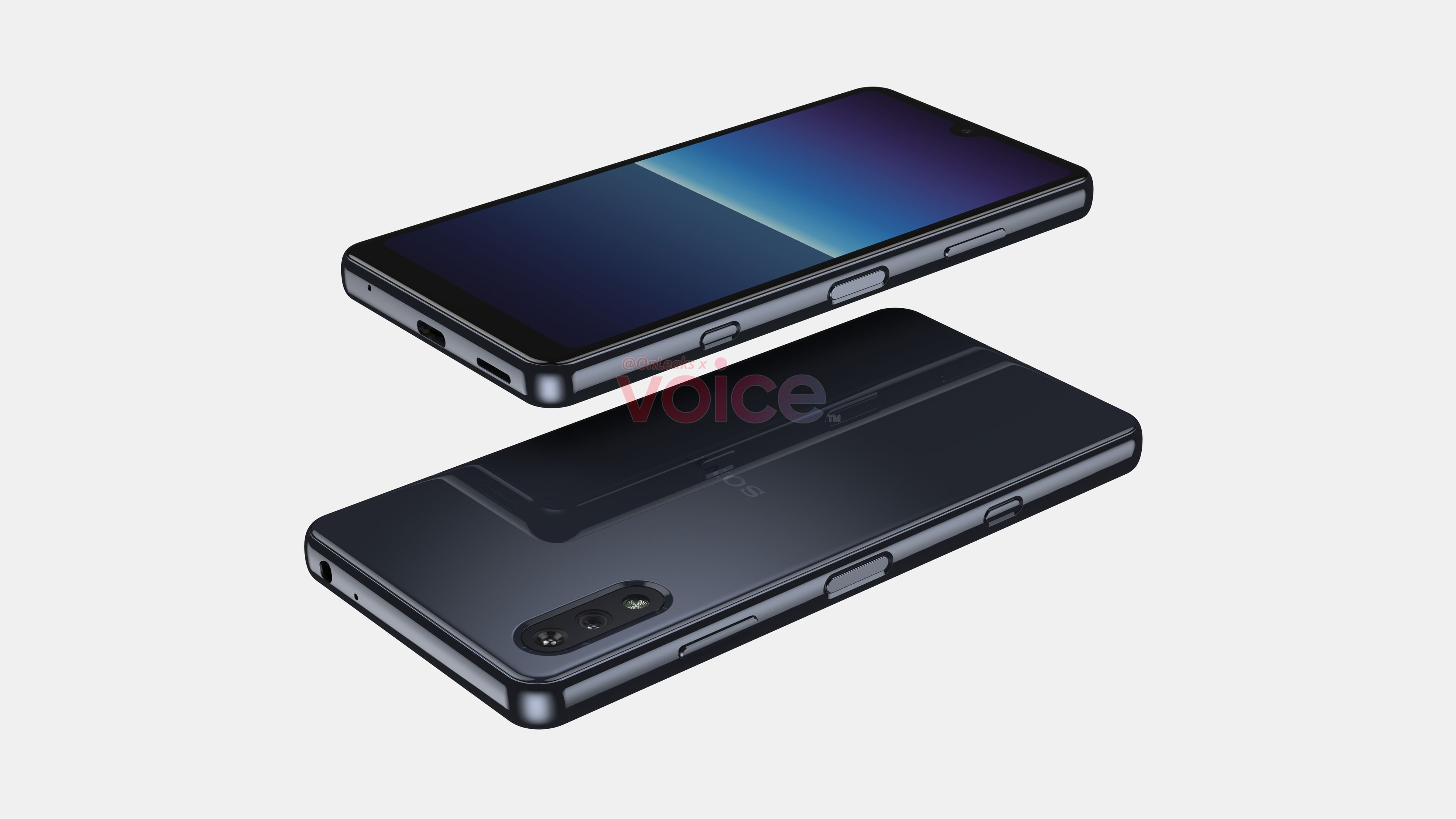 2021 Sony Xperia Compact side view