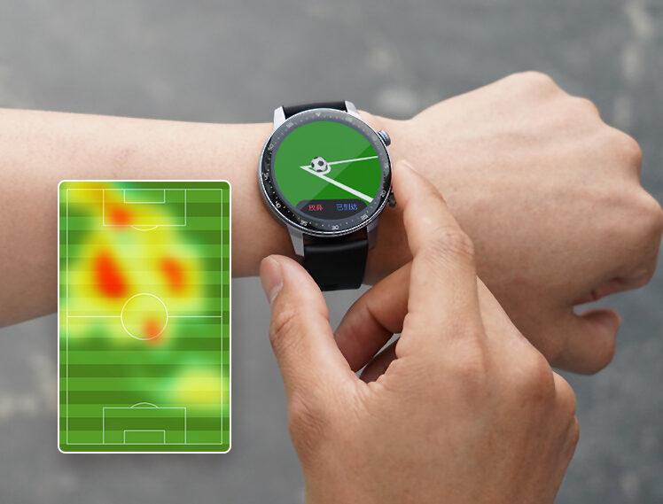 zte watch gt gps heatmap