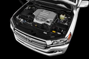 Toyota Land Cruiser V8 Engine